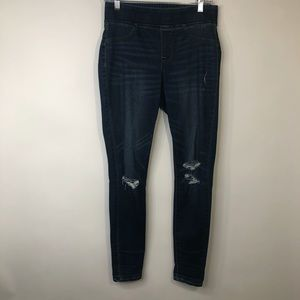Old Navy Midrise distressed jeans
